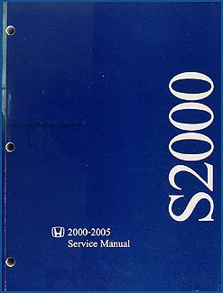 2000-2005 Honda S2000 Repair Manual Original