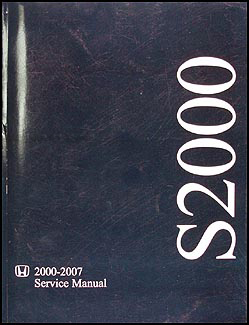 2000-2007 Honda S2000 Repair Manual Original