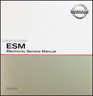 2001 Nissan Altima CD-ROM Repair Manual