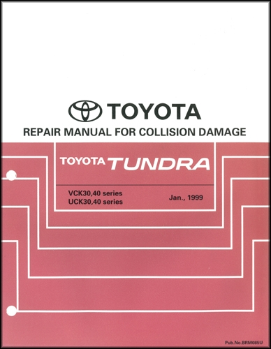 2002-2006 toyota camry body collision repair manual original