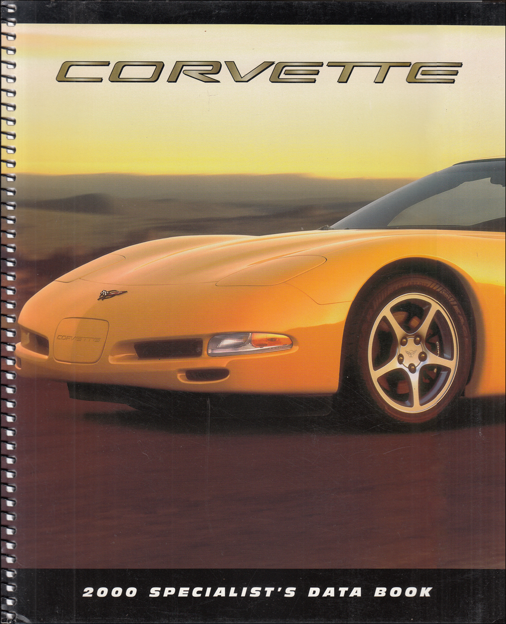 2000 Chevrolet Corvette Color & Upholstery Dealer Album/Data Book Original