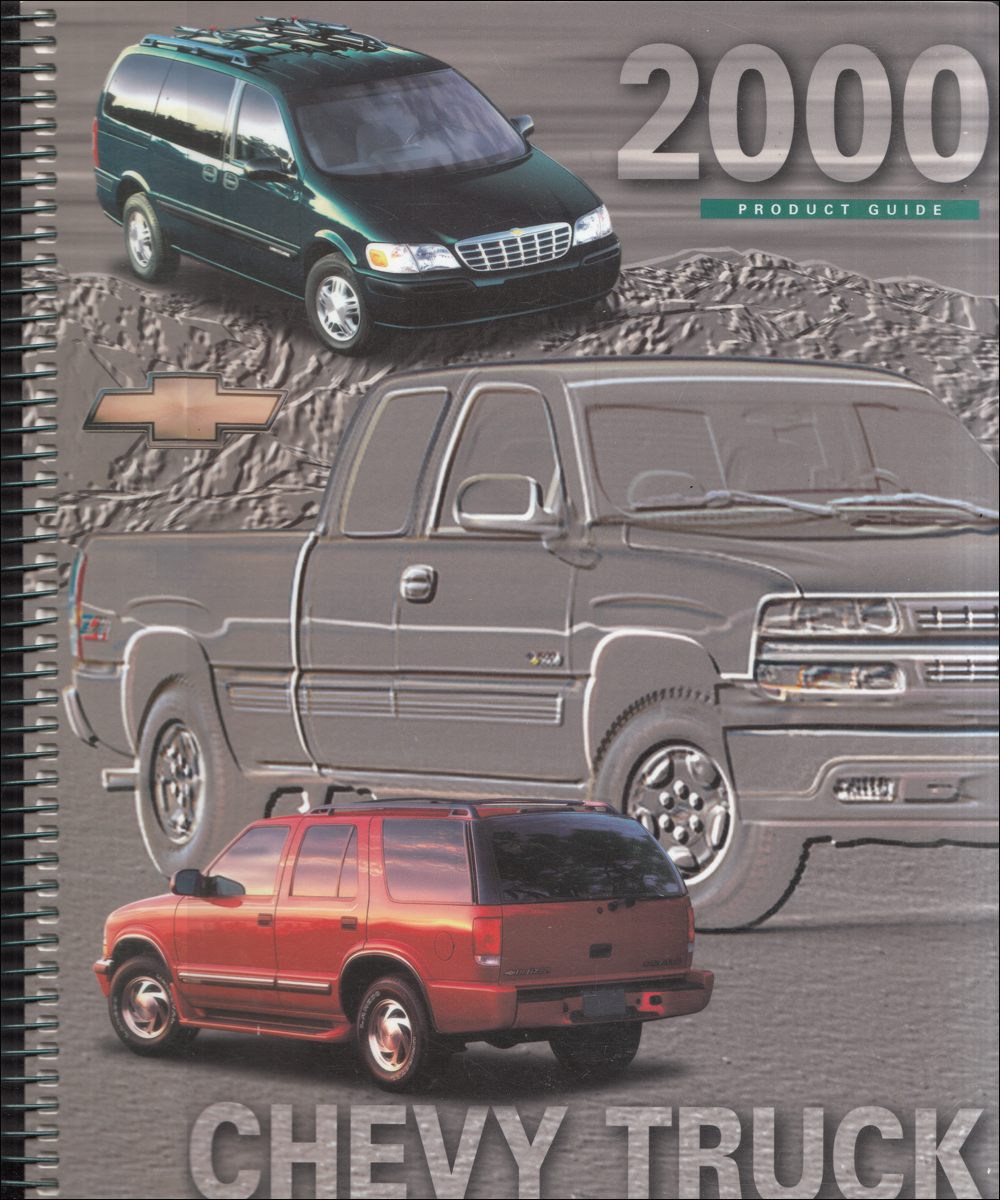 2000 Chevrolet Truck Data Book Dealer Album Original