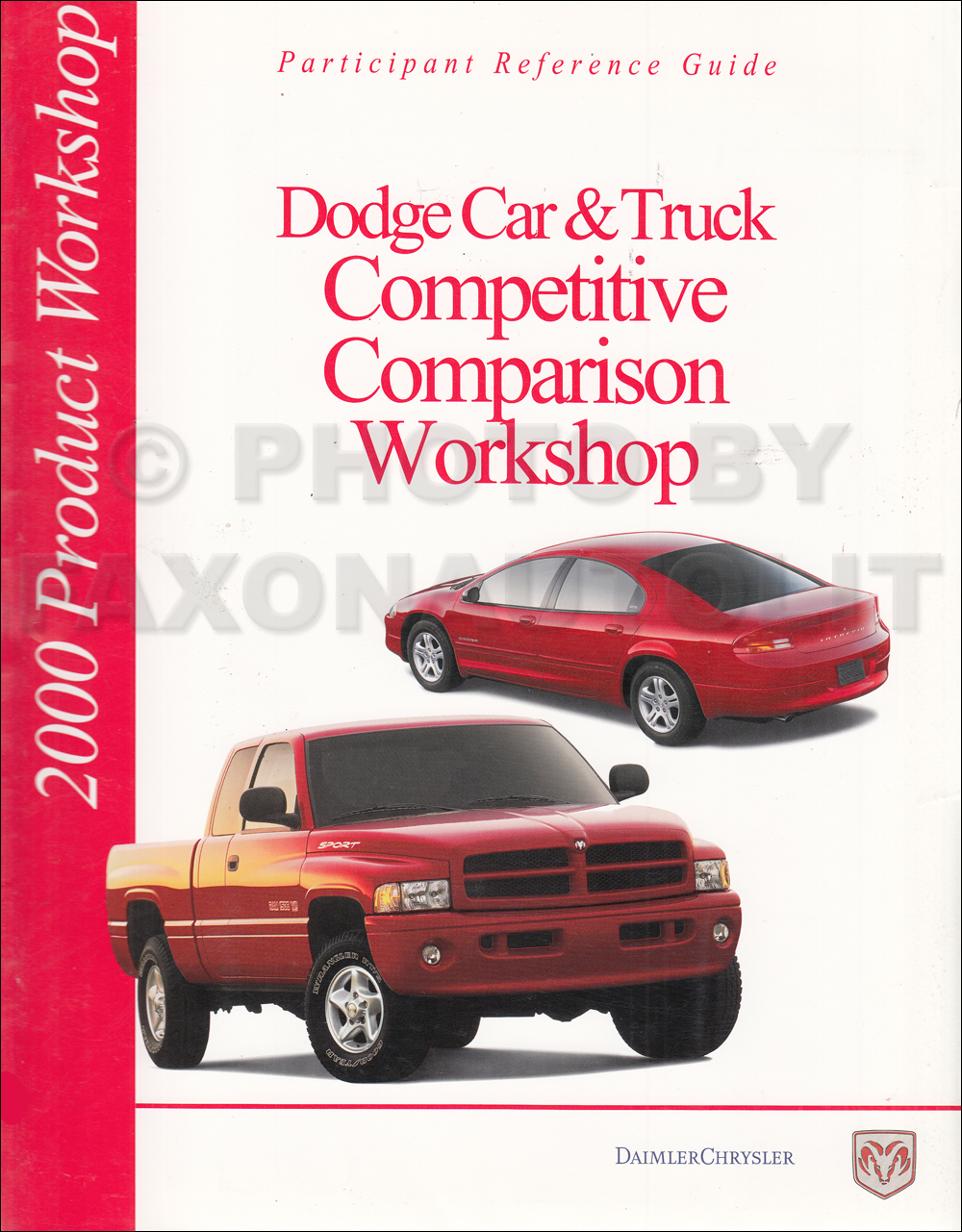 2000 Dodge Competitive Comparison Dealer Album Original