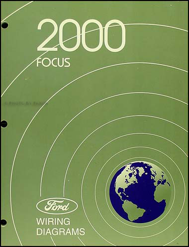 2000 Ford Focus Wiring Diagram Manual Original