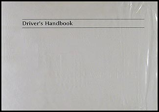 2000 Jaguar XK8 Owner's Manual Original