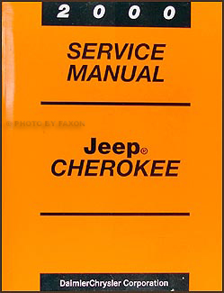 2000 Jeep Cherokee Repair Manual Original