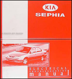 2000 Kia Sephia Electrical Troubleshooting Manual Original