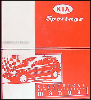 1999-2000 Kia Sportage Electrical Troubleshooting Manual OriginalFaxon Auto Literature