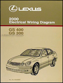 2000 Lexus GS 300/400 Wiring Diagram Manual Original