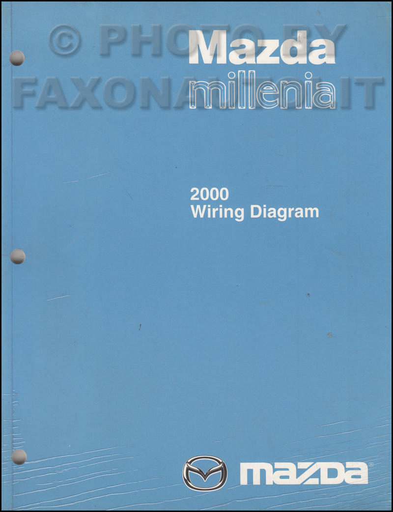 2000 Mazda Millenia Wiring Diagram Manual Original