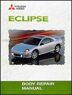 2000-2005 Mitsubishi Eclipse Body Manual Original
