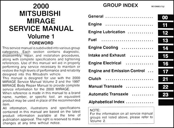 2000 mitsubishi mirage repair shop manual set original 2000 suzuki vitara wiring diagram 2000 mitsubishi mirage wiring diagram #12