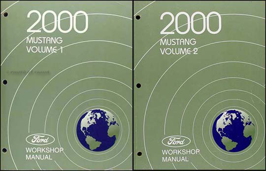 Ford Mustang Shop Manual Original  Volume Set