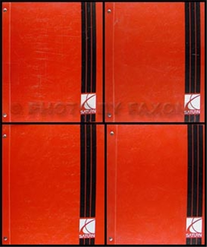 2000 Saturn L-Series Shop Manual Original Binder 4 Vol. Set LS LW