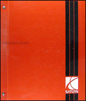 2000 Saturn S-Series Shop Manual Factory Original Binder 3 Vol. Set