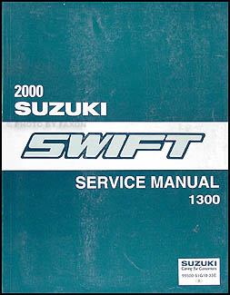 2000 Suzuki Swift 1300 Repair Manual Original