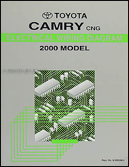 2000 Toyota Camry Repair Shop Manual 2 Volume Set Original