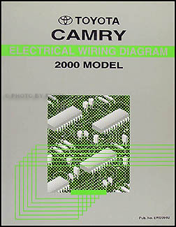 2000 Toyota Camry Wiring Diagram Manual Original Dashboard Lights Fuel