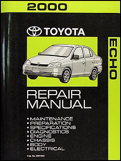 2000 toyota echo wiring diagram manual original rh faxonautoliterature com Spirit XE 150 Wiring Diagram 2000 toyota echo radio wire diagram