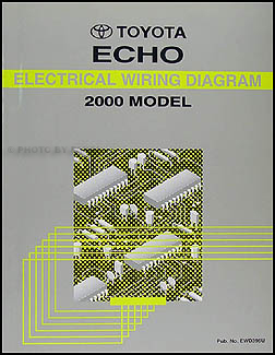 2000 Toyota Echo Wiring Diagram Manual Original