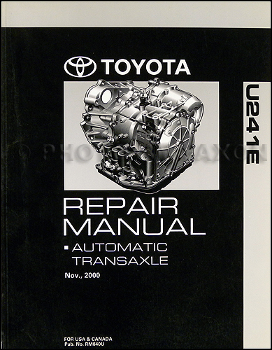 1993 Toyota Celica ST Automatic Transmission Repair Manual Original