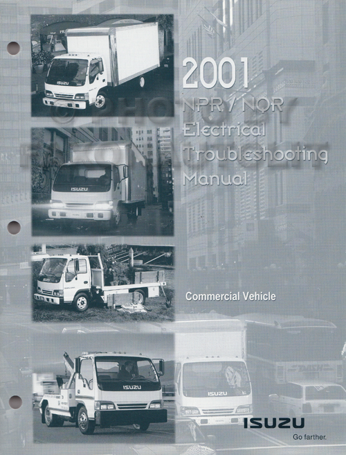 2001-2002 NPR NQR W3500 W4500 W5500 Electrical Troubleshooting Manual Orig.