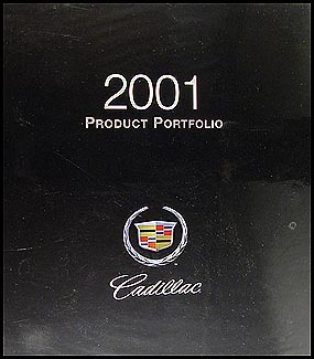2001 Cadillac Product Portfolio - Data Book and Color & Upholstery Album