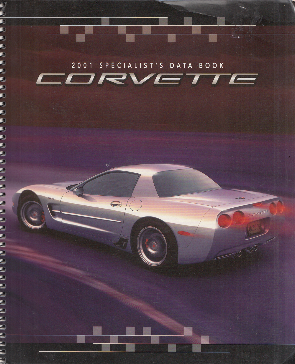 2001 Chevrolet Corvette Color & Upholstery Dealer Album/Data Book Original