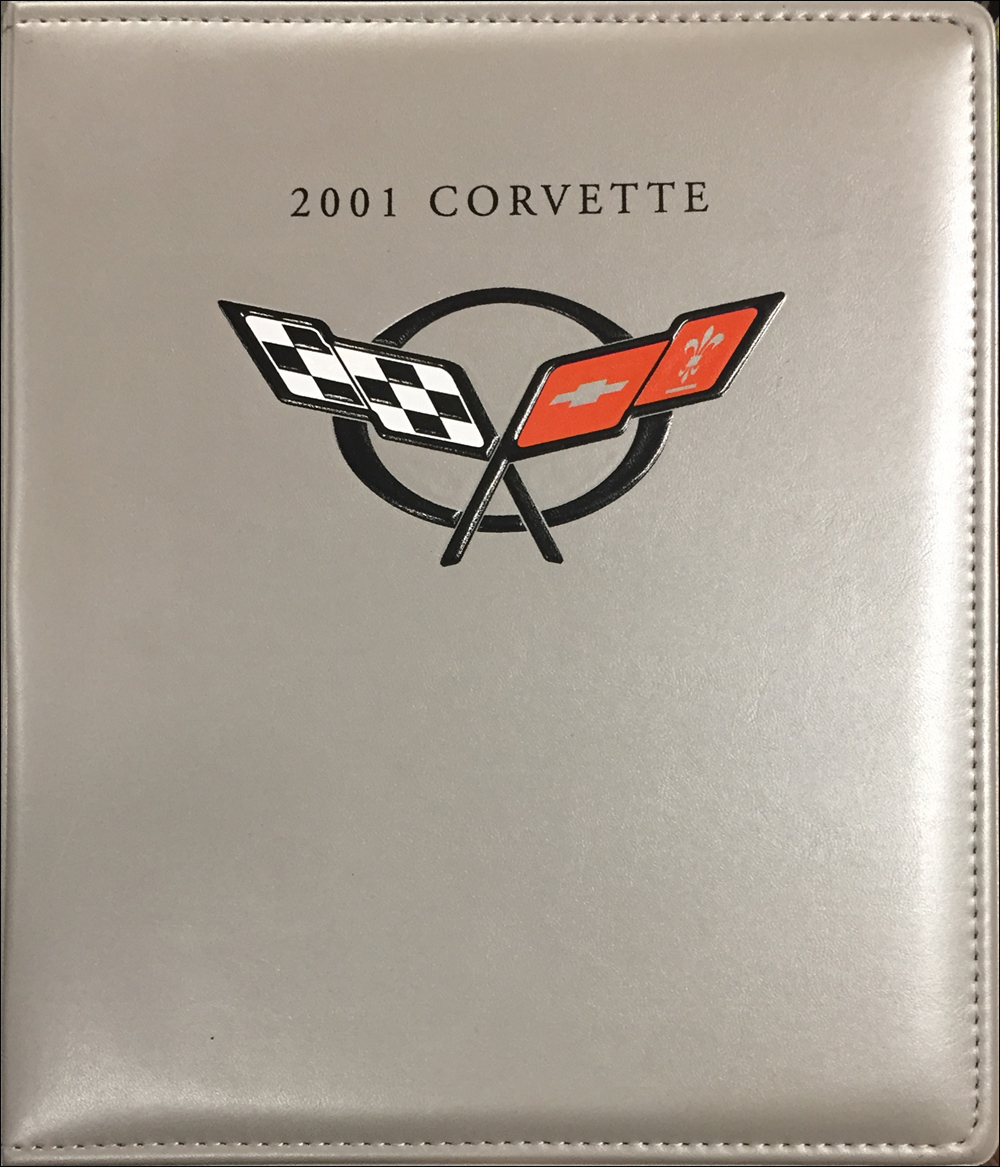 2001 Chevrolet Corvette Press Kit Original