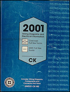 2001 GM CK Truck Wiring Diagram Original
