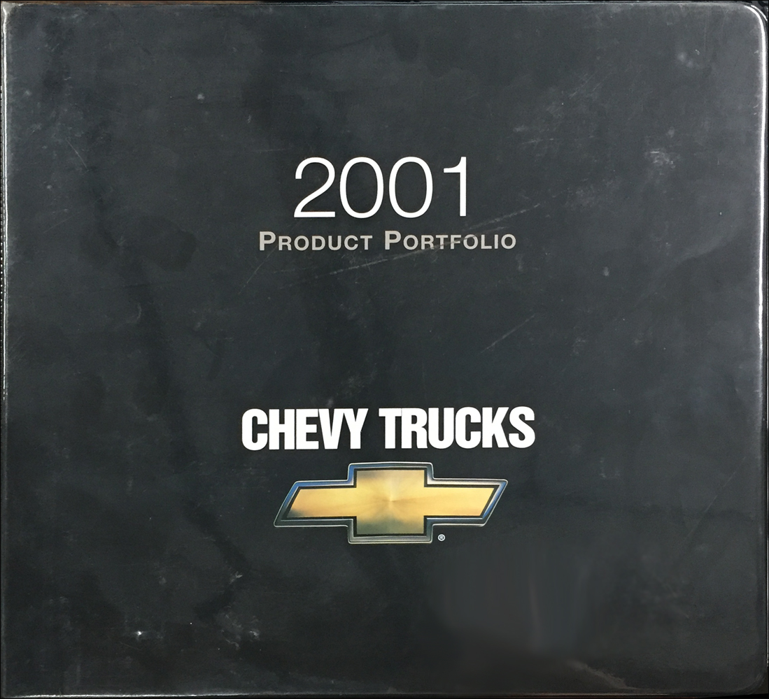 2001 Chevrolet Truck Color & Upholstery Dealer Album/Data Book Original