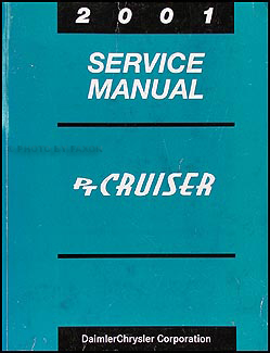 2004 Chrysler PT Cruiser Shop Manual Original