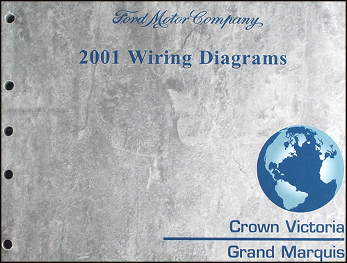 2001 ford crown victoria \u0026 mercury grand marquis wiring diagram manual 1998 Jeep Grand Cherokee Wiring Diagram