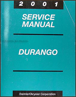 2001 Dodge Durango Repair Manual Original