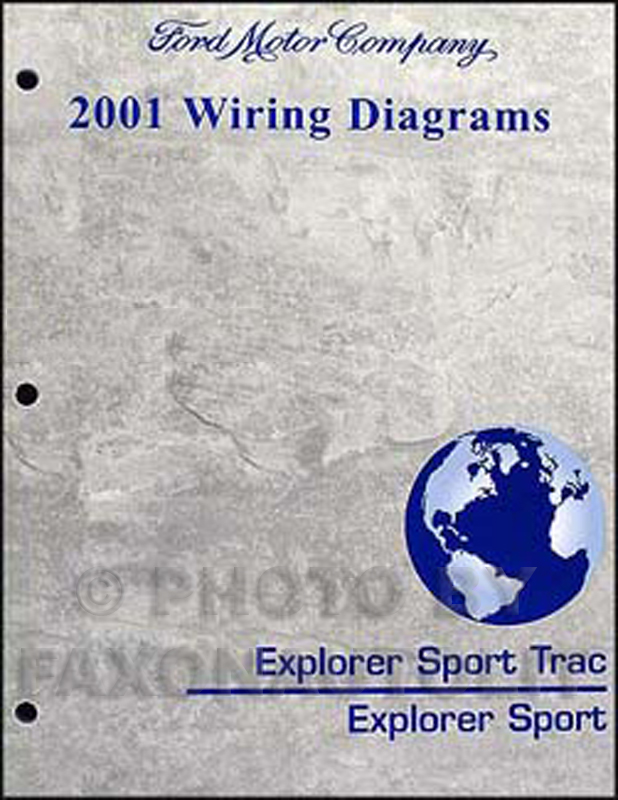 2001 Ford Explorer Sport Trac And Explorer Sport Repair Shop Manual Set