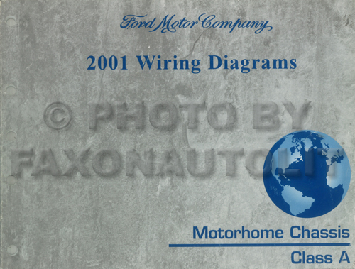 2001 Ford Motorhome Chassis Wiring Diagram Original Class A