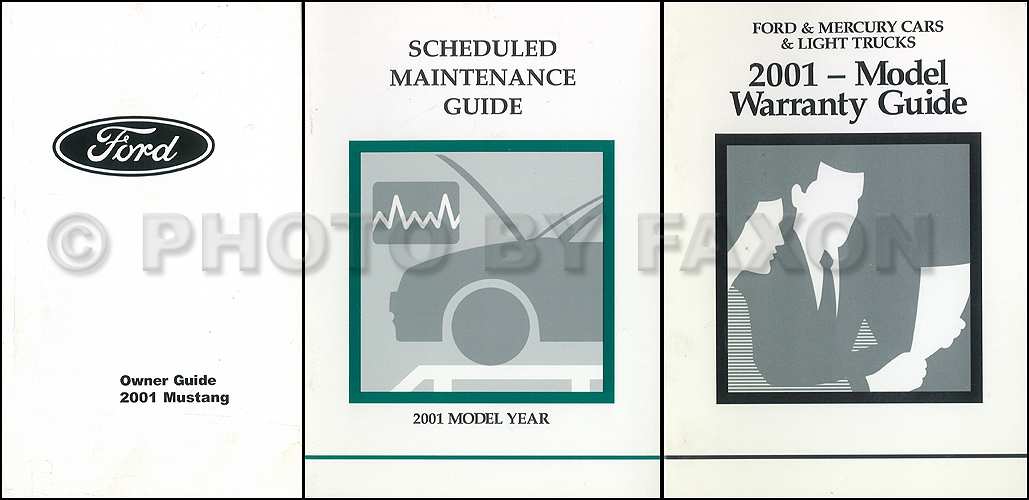 2001 Ford Mustang Owner's Manual
