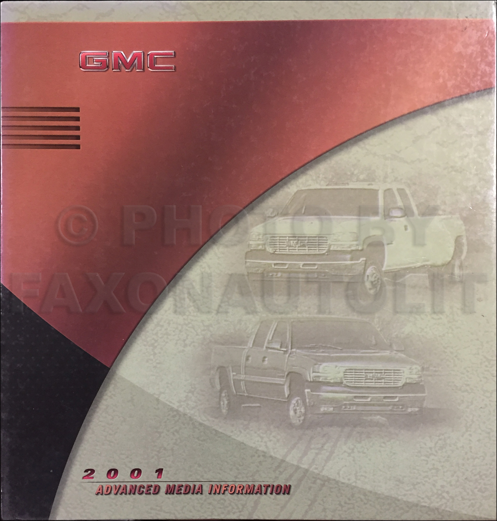 2001 GMC Advanced Press Kit Original