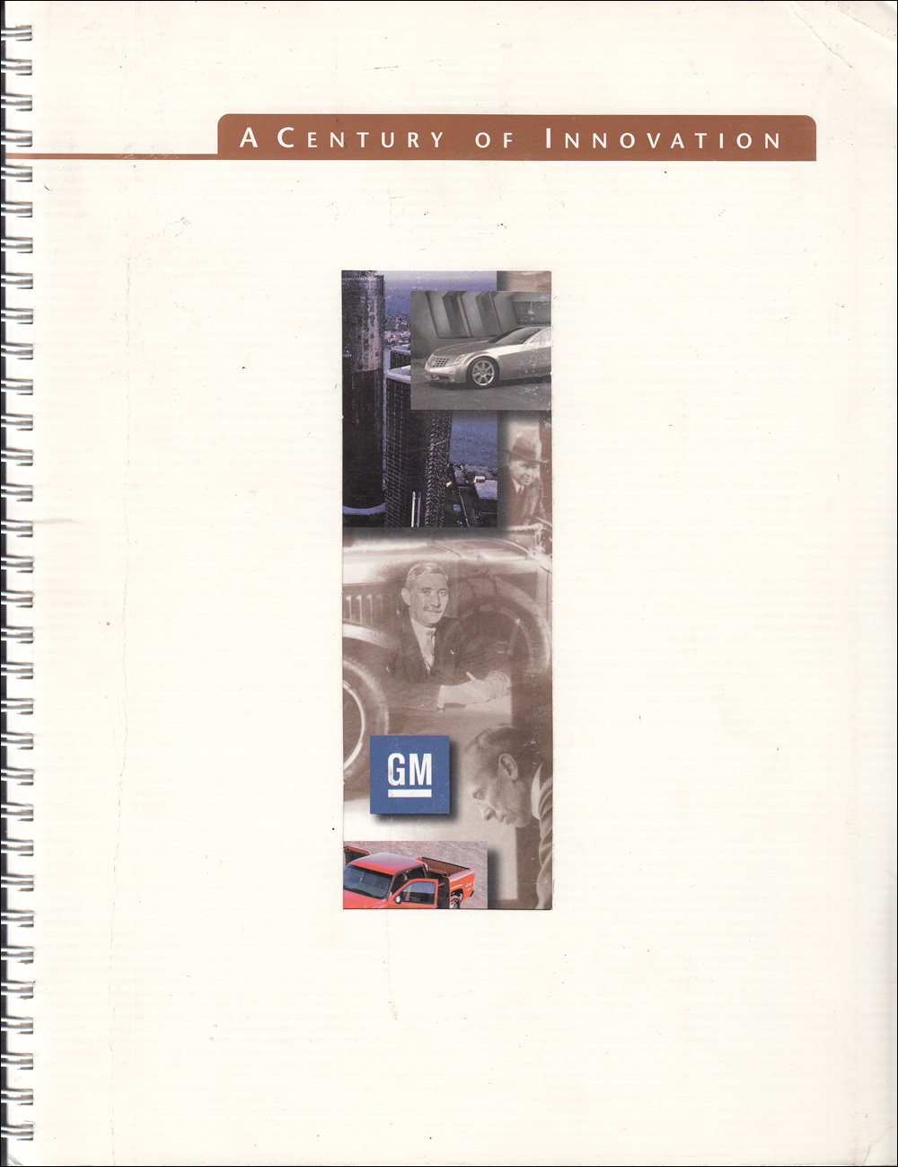"2000 GM ""Century of Innovation"" Engineering History Book"