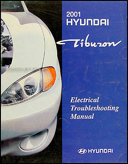 2001 Hyundai Tiburon Electrical Troubleshooting Manual Original