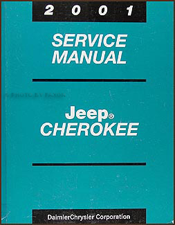 2001 Jeep Cherokee Repair Manual Original