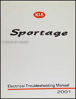 2001 Kia Sportage Electrical Troubleshooting Manual Original
