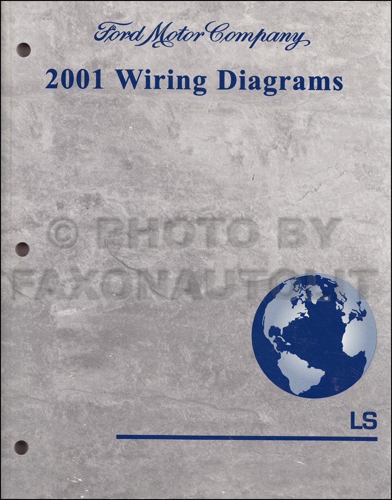 2001 Lincoln LS Wiring Diagram Manual Original