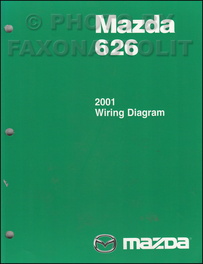 2001 Mazda 626 Wiring Diagram Manual Original