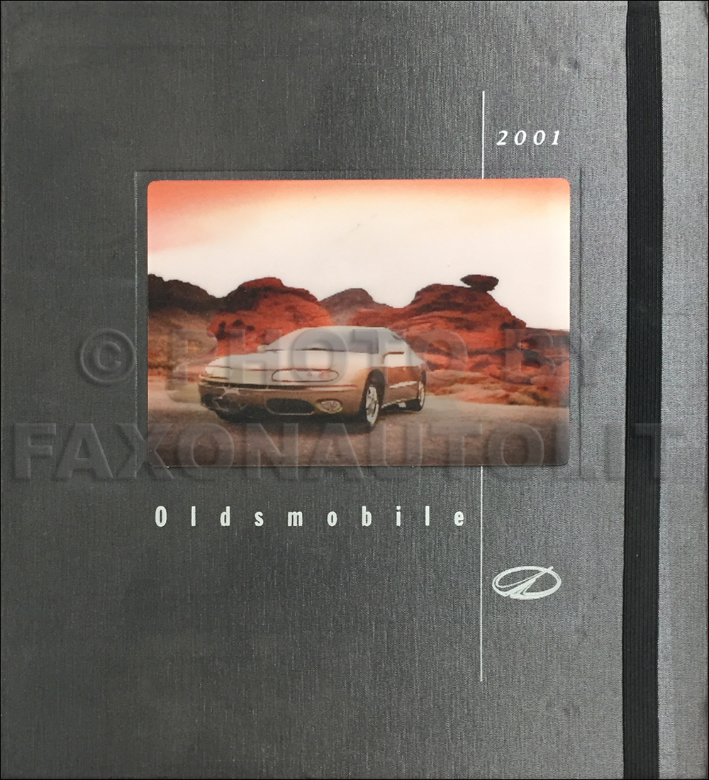 2001 Oldsmobile Technical Press Kit Original