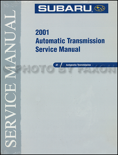 2001 Subaru Automatic Transmission Manual Original