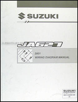 2001 Suzuki XL-7 Wiring Diagram Original