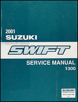 2001 Suzuki Swift Repair Manual Original