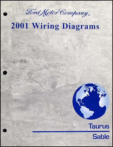 2001 Ford Taurus & Mercury Sable Wiring Diagram Manual Original Relay Wiring For Taurus on