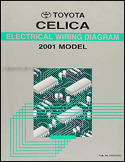 2001 toyota celica wiring diagram manual original Legacy Wiring Diagram